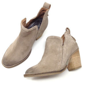 Jeffrey Campbell Beige Suede Leather Ankle Boots 7